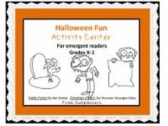 It's almost time!  These math and reading activities for grades k-1 provide a fun (and spooky) intro to the season. See the product preview to know for certain if appropriate for your kids.  From subplanners.
