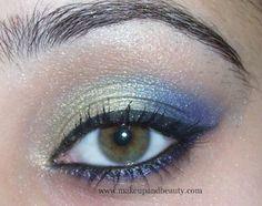 blue wedding makeup - Google Search
