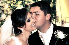 Casamento Nathália & Carlos #casamento #wedding #noiva #bride #noivo #groom #kiss #beijo #love #amor