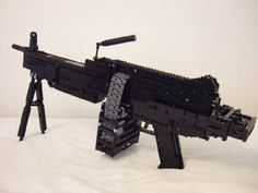 One of 19 working guns made out of legos on this page, Yes they have video