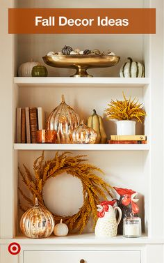 Refresh your home with rustic, fall decor ideas in harvest hues for your living . - Refresh your home with rustic, fall decor ideas in harvest hues for your living room, walls & entry - Fall Home Decor, Autumn Home, Diy Home Decor, Autumn Fall, Thanksgiving Decorations, Seasonal Decor, Holiday Decor, Fall Decorations, Winter Holiday