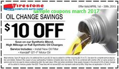 Firestone coupons march