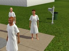 """Mod The Sims - Sims 3 """"Official"""" Asylum Challenge <Sounds interesting"""
