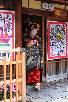 Maiko Kikuyae- February 2016.菊弥江さんお見世出し(宮川町) : 花景色-K.W.C. PhotoBlog