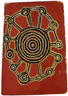 Indigenous Art -- LOT 7 Tutuma Tjapangati circa 1909-1987 ONE OLD MAN'S DREAMING (1971) natural earth pigments and bondcrete on composition board 63 X 45CM ESTIMATE $120,000-180,000 ?  Photo: Sotheby's