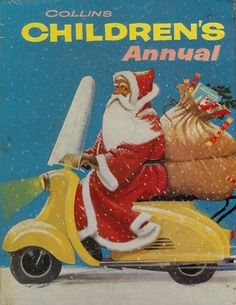 Santa Scooter on Children's Annual | da eggchairsteve
