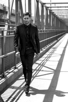 Macho Moda - Blog de Moda Masculina: Look All Black Masculino, pra Inspirar!