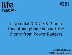 1000 Life Hacks- this one really works! (by the way its when u r punching the numbers in)