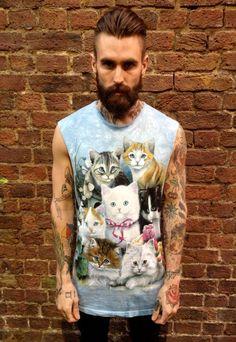 Love his shirt