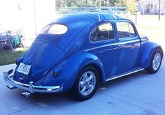 VW Beetle oval window