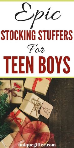 Epic Stocking Stuffers for Teenage Boys (That They Actually Want This Year) - Unique Gifter Epic Stocking Stuffers for Teenage Boys (That They Actually Want This Year) - Unique Gifter Stocking Stuffers for Teen Guys Teenage Boy Christmas Gifts, Christmas Presents For Teens, Birthday Presents For Men, Gifts For Teen Boys, Cheap Christmas Gifts, Tween Gifts, Christmas Stocking Fillers, Handmade Christmas Gifts, Kids Gifts