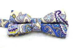 Paisley, Bows, Accessories, Fashion, Moda, Arches, Bowties, Fashion Styles, Bow