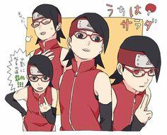 Naruto The Boruto Series Fan Art ☆ Sarada Uchiha