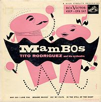 Awesome 50s modern album cover.