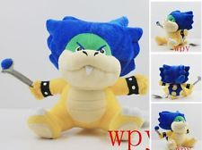 "6.5"" Super Mario Bro Ludwig von Koopa Plush Stuffed Doll Toy Soft Kids toy Gift"