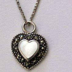 Signed Vior Italy Sterling Silver Marcasite and by BNDJewelry, $25.00