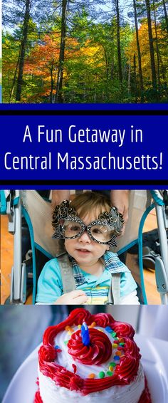 Want an easy mini-vacation with family? Check out this fun getaway itinerary suggestion in Central Massachusetts featuring Sturbridge and Southbridge, MA, and Bigelow State Park, CT!