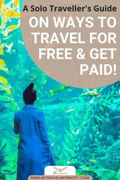 A travel guide on ways to travel for FREE and get paid! All you have to do is look in the right places and be willing to be flexible with your time and the way you travel. Free Travel, Cheap Travel, Budget Travel, Travel Guide, Travel Checklist, Ways To Travel, Best Places To Travel, Travel Hacks, Best Beaches In Europe