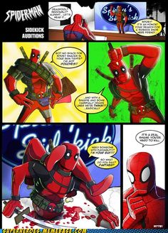 I feel like  a lot of people say that about Deadpool    Spider-Man's Chimichanga!