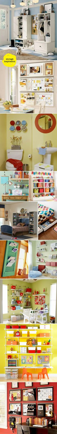 storage inspiration via colour me there