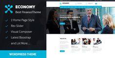 Economy - Finance & Business WordPress Theme (Business) - http://wpskull.com/economy-finance-business-wordpress-theme-business/wordpress-offers