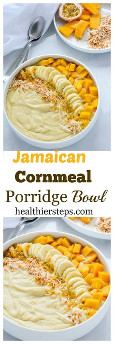 Jamaican Cornmeal Porridge Bowl