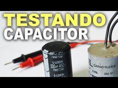 Como testar capacitor com multímetro digital - YouTube