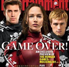 Los Juegos han terminado la revista #EntertainmentWeekly dedica su portada a #TheHungerGames. La última película de Hunger Games, #Mockinjay 2 estrena muy pronto por eso EW dedicó su portada a la franquicia protagonizada por #JenniferLawrence, #JoshHutcherson y #LiamHemsworth. - #MagazineVirtual