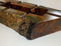 Large Wooden Cigar Ashtray