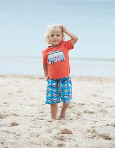 Sunshine, blue skies, beaches and ice creams, festivals and good times. All the things that the new SS14 childrenswear range from Frugi has been inspired by!