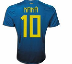 Hero Shirts Nike 2011-12 Brazil Nike Away Shirt (Kaka 10) Buy the latest Brasil away shirt for the 2011 Copa America tournament in adult sizes S M L XL XXL or junior sizes small boys medium boys large boys XL boys. This football shirt comes with Kaka shirt p http://www.comparestoreprices.co.uk/football-shirts/hero-shirts-nike-2011-12-brazil-nike-away-shirt-kaka-10-.asp