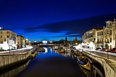Canal Central - Aveiro by Night -