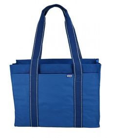 Poly Zipper Tote Bag - Royal - CE116F2F3O7  #Bags #Handbags #Totebags #gifts #Style