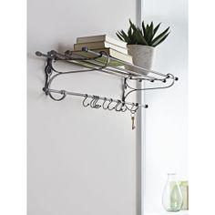 Elegant Metal Station Shelf