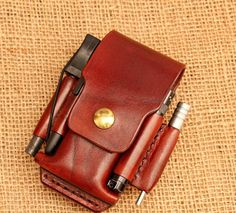 Safe Drinking Water in an Emergency or Disaster – Bulletproof Survival Tandy Leather, Leather Pouch, Leather Tooling, Fisher Space Pen, Edc Everyday Carry, Edc Gear, Leather Projects, Camping Gear, Leather Craft