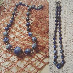 Collana di lapislazzuli handmade #lapislazzuli #handmade #jewelry