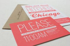 Jake + Sarah Wedding // via designmedailyblog.com