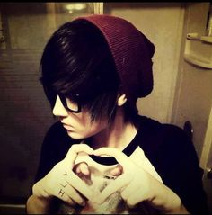 I am the happiest I've ever been thanks to this boy. Hes mine so back off xD *squeals*