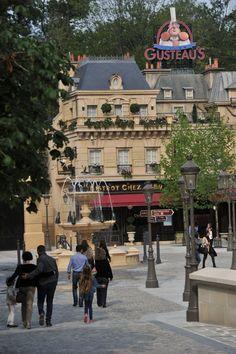 Bonjour! From Disneyland Paris.