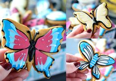 Butterfly Collection from Biscuiteers London fashionaddictedfoodies.com