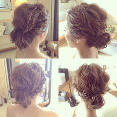 Kumiko SaekiさんはInstagramを利用しています:「リクエスト頂きましたので。。♡ 先ほどのお嫁さまの挙式スタイルです!! くしゃっとわしゃっと. #kumikoprecious #hawaii #hawaiiwedding #wedding #weddinghair #bride #bridehair #hair…」