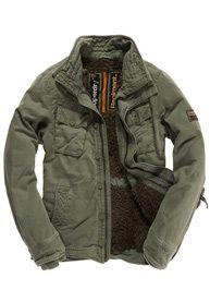 On Duty Utility Jacket from new Glendale Galleria tenant Superdry