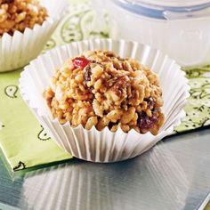 Bouchées croquantes au riz soufflé - Recettes - Cuisine et nutrition - Pratico Pratiques - Collation