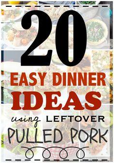 20 Easy dinner ideas using leftover pulled pork - Make The Best of Everything