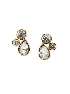 Delicate Diamond Earrings