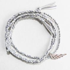 bracelet tresse aile