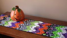 halloween table runner quilt - Google Search