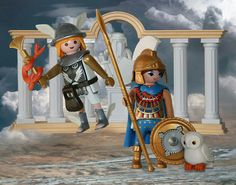 Hermes y Minerva