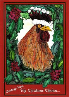 Season's Greetings from the Christmas Chicken 6 by EgressStudio,