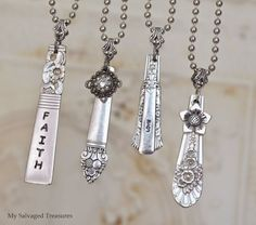 37 Country Craft Ideas to Make and Sell – Diy Jewelry To Sell Silver Spoon Jewelry, Fork Jewelry, Metal Jewelry, Vintage Jewelry, Silver Ring, Bullet Jewelry, Jewelry Necklaces, Jewelry Crafts, Jewelry Art